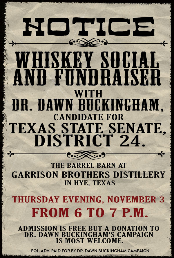 Whiskey Social and Fundraiser